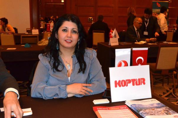 Le Groupe VIP'den Melek Birtürk bir başka turizm meleği olarak Türkiye'ye yönelik gezi izlencelerini sundu.