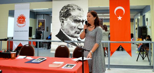 Atatürk'ü Anma Günü'nü Nursel Özyavuz sundu.