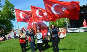 19 Mayıs Atatürk'ü Anma, Gençlik ve Spor Bayramı kutlandı