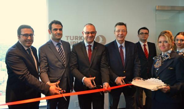 THY Montreal bürosu törenle açıldı.