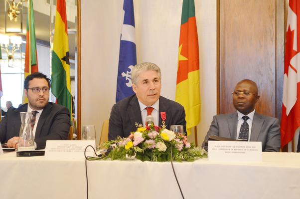Kanada Kamerun Ticaret Odası Başkanı Yasin Erdem.