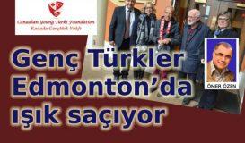 Genç Türkler Edmonton'da ışık saçıyor