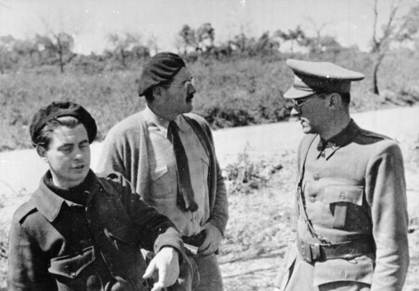 Hemingway Savaş Muhabiri.