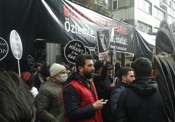 İstanbul'daki anma toplantısından.