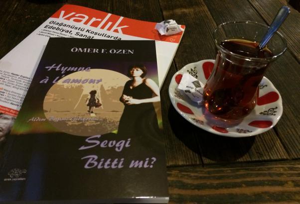Sevgi Bitti mi? / Aldım Başımı Gidiyorum Ömer F. Özen'in yayınlanan ilk şiir kitabı.