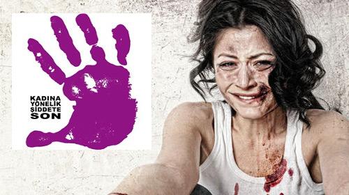 Kadına şiddet...