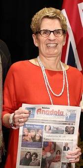 Ontario Başbakanı Kathleen Wynne Bizim Anadolu'yla.