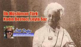 İlk Müslüman Türk Kadın Besteci