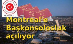Montreal'e Başkonsolosluk