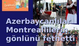 Azerbaycan Türkleri Festival Orientalys'teydi