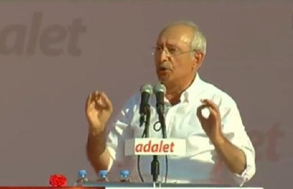 Kılıçdaroğlu 10 maddelik bir bildiri yayınladı.