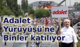 Kılıçdaroğlu'ndan 'Adalet Yürüyüşü'