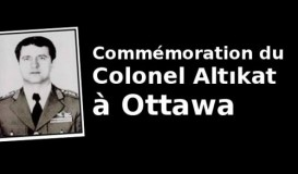 Commémoration du colonel Altikat à Ottawa