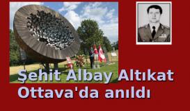 Şehit Albay Altıkat Ottava'da anıldı