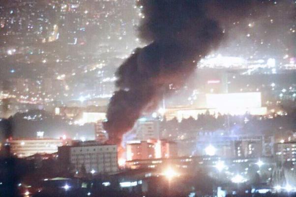 Ankara 'yine' yanıyor