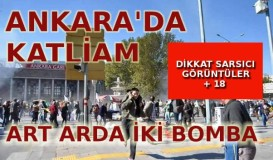 Ankara'da bomba, 86 ölü 186 yaralı