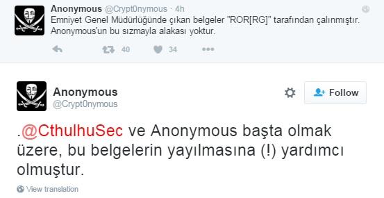 Anonymous ben değilim diyor. Ancak yardım etmiş.