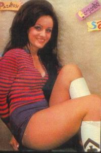 Arzu Okay 1970'lerde.