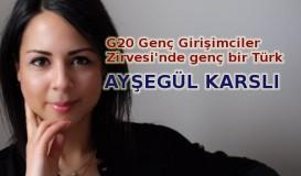 G20 Genç Girişimciler Zirvesi'nde genç bir Türk