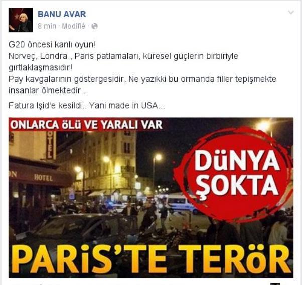 Gazeteci Banu Avar yorumladı.