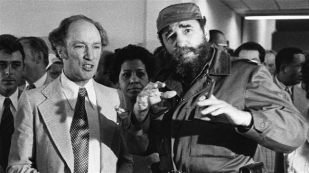 Pierre E. Trudeau Castro ile.