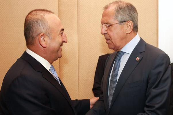 Bakan Mevlüt Çavuşoğlu Rusya Dışişleri Bakanı Sergey Lavrov ile de görüştü.