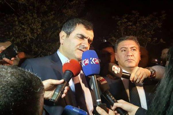 CHP milletvekilleri olay yerinde değerlendirme yaptılar.