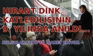 9. yılında Hrant Dink anıldı