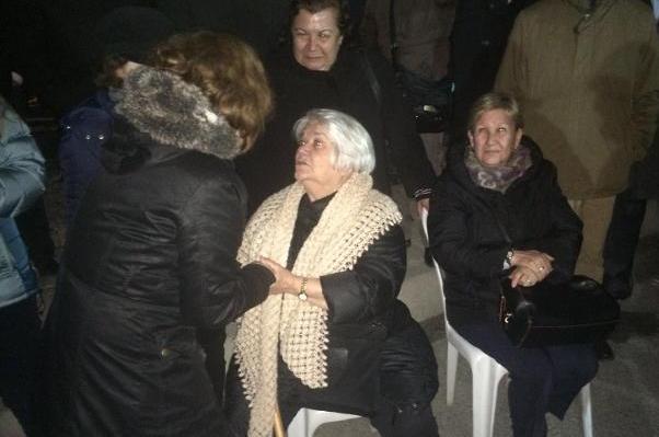 Can Dündar'ın annesi Öznur Dündar.