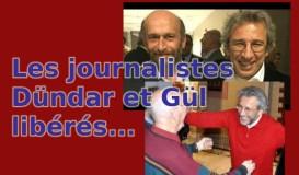 Les journalistes Dündar et Gül libérés
