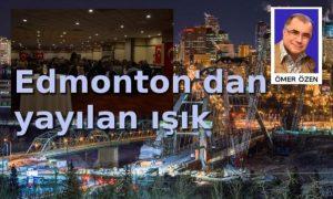 Edmonton'dan yayılan ışık