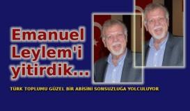 Emanuel Leylem'i yitirdik