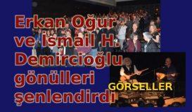 Erkan Oğur-İsmail H. Demircioğlu dinletisi-görseller