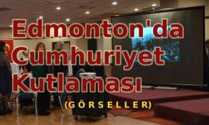 Edmonton'da Cumhuriyet-Görseller