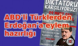 ABD'li Türklerden Erdoğan'a protesto