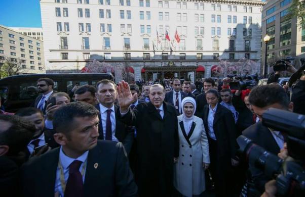 Erdoğan ABD'de.