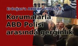 Erdoğan'a ABD'de protesto