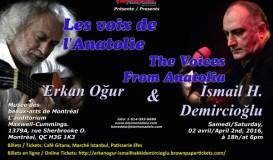 Concert / Erkan Oğur & İsmail H. Demircioğlu
