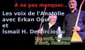 Erkan Oğur et İ. Hakkı Demircioğlu chantent