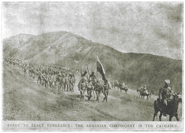Prêt à exiger la vengeance: Le contingent arménien dans le Caucase.