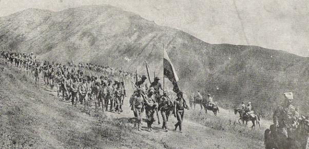 Antranig gönüllü birlikleri Rus ordusu içinde Osmanlı'ya kaşı savaştı.