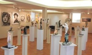 Septième exposition de sculpture d'Özgen Eryaşa