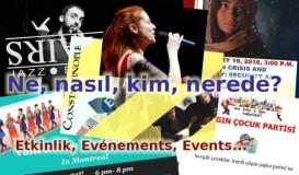Events / Etkinlik / Evénements