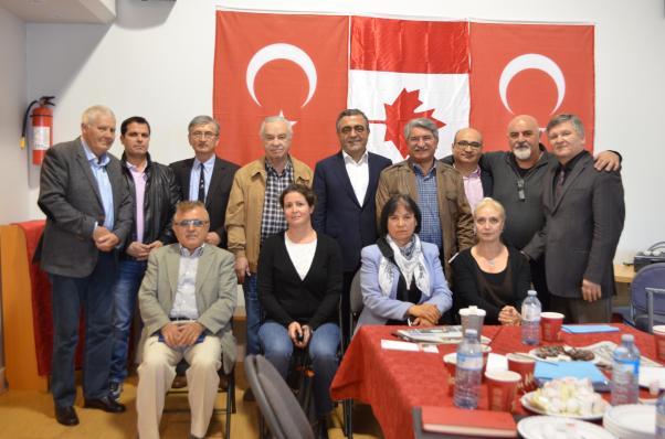 Milletvekilleri Fikri Sağlar ve Sezgin Tanrıkulu'nun Kanada görüşmeleri verimli geçti.