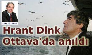 Hrant Dink Ottava'da anıldı