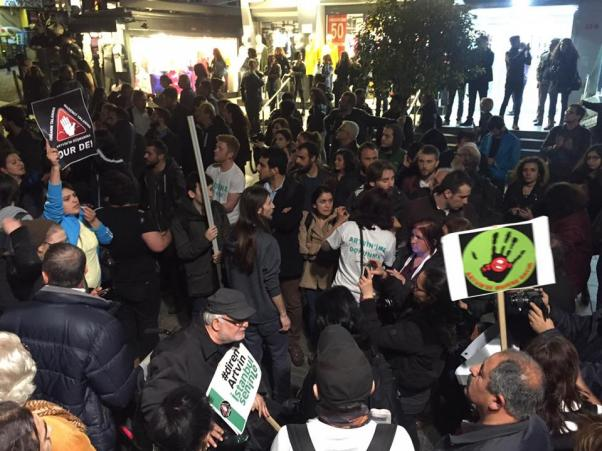 Artvin'de olduğu gibi Ankara, İstanbul'da karşı gösteriler... 'Diren Artvin!'
