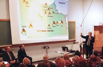 Prof. Dr. Justin McCarthy Toronto'da Ermeni Sorunu üzerine konuştu.