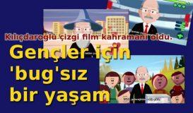 Kılıçdaroğlu Çizgi Film Kahramanı