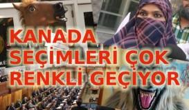 Kanada seçimlerine peçe damga vuruyor