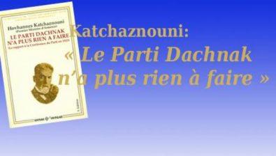 Le Parti Dachnak n'a plus rien à faire -8